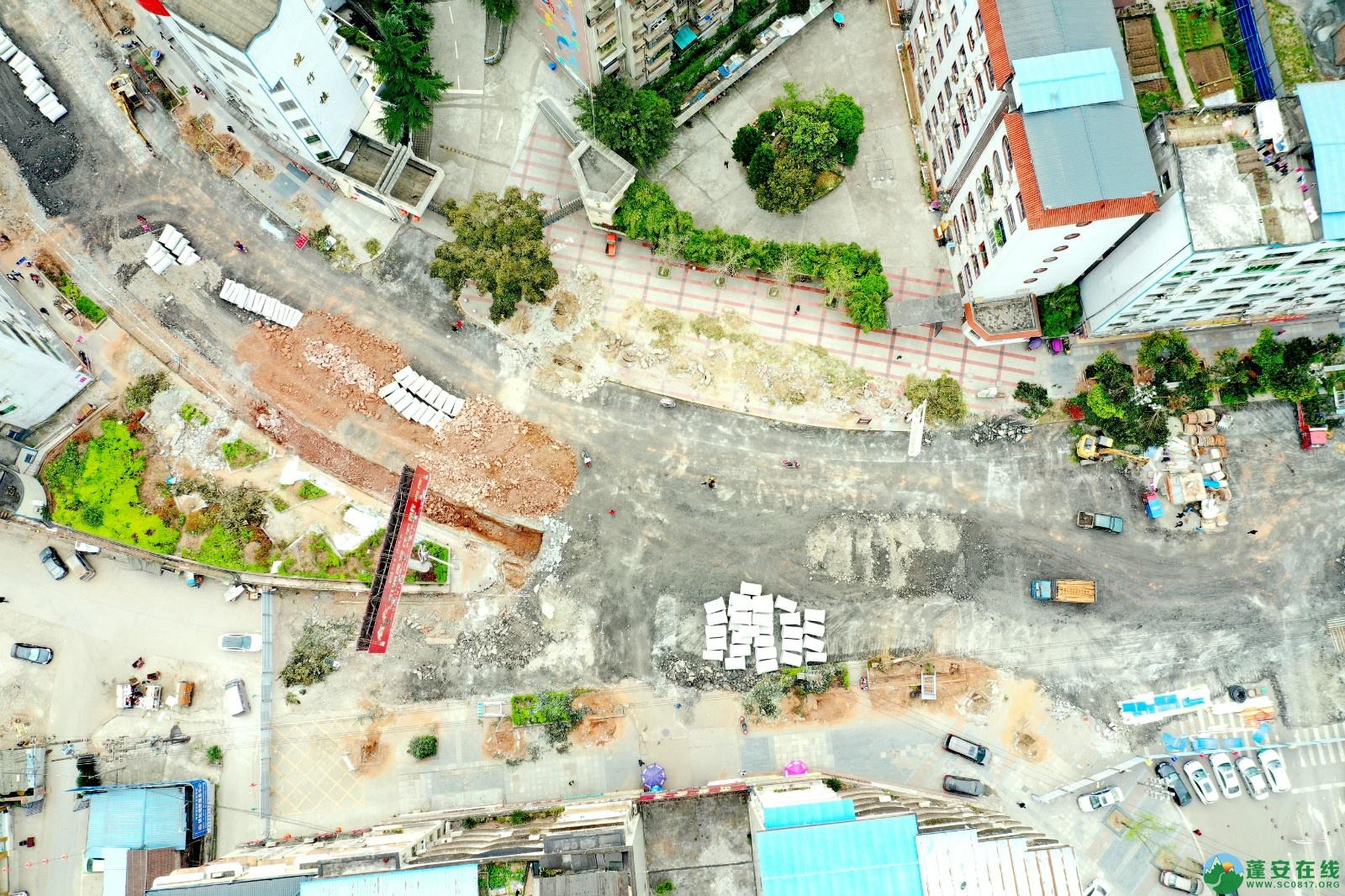 蓬安建设南路老旧街道小区美化改造(2020.3.22) - 第6张  | 蓬安在线