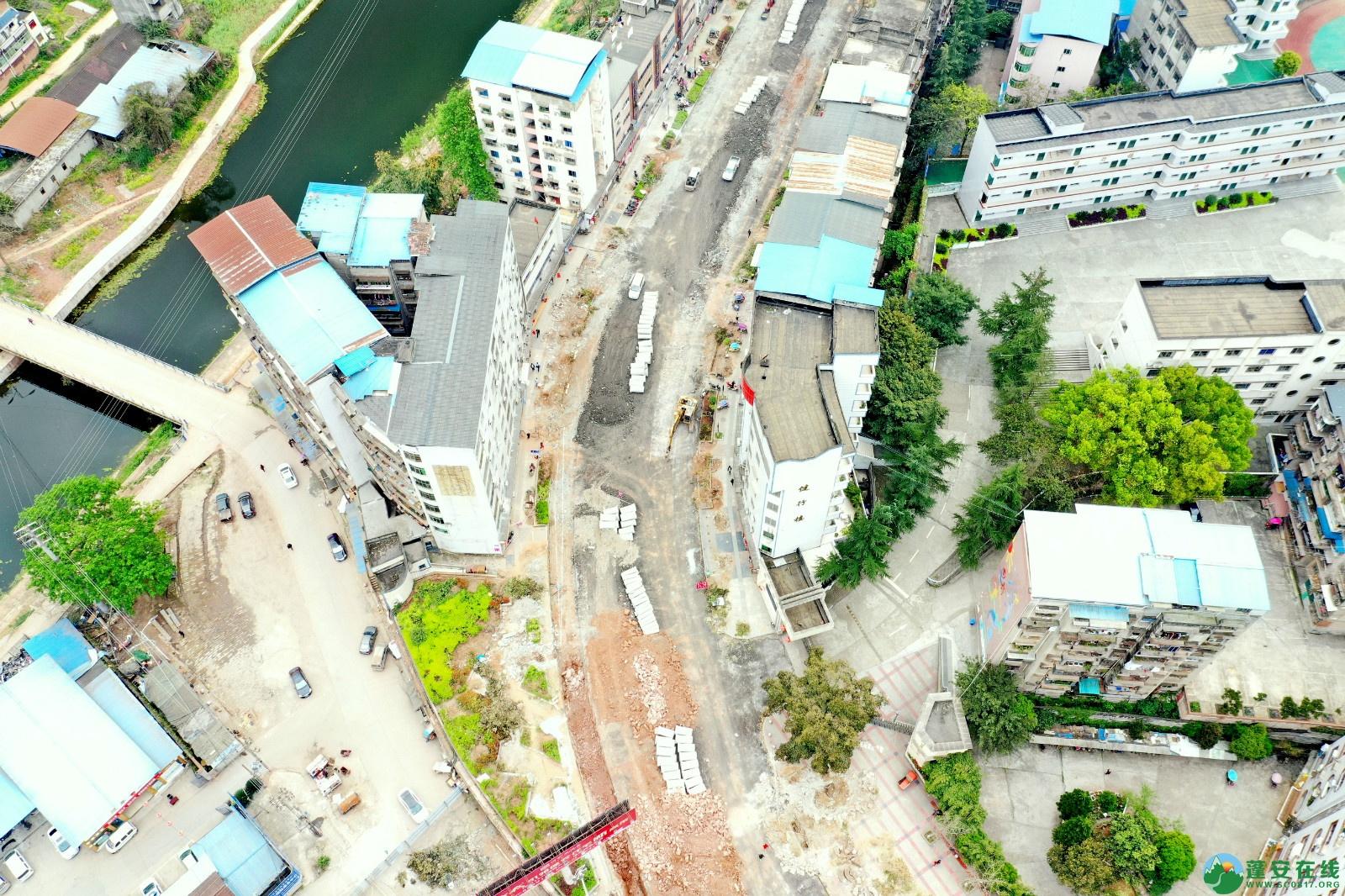 蓬安建设南路老旧街道小区美化改造(2020.3.22) - 第7张  | 蓬安在线