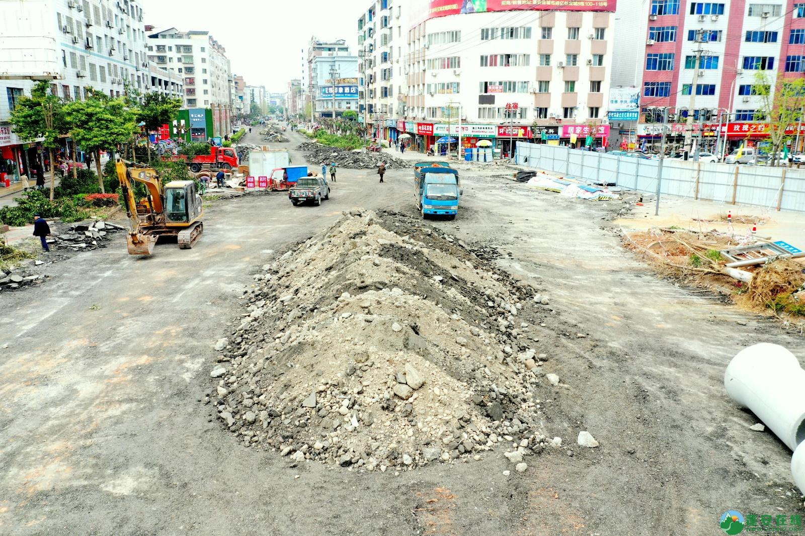 蓬安建设南路老旧街道小区美化改造(2020.3.22) - 第8张  | 蓬安在线
