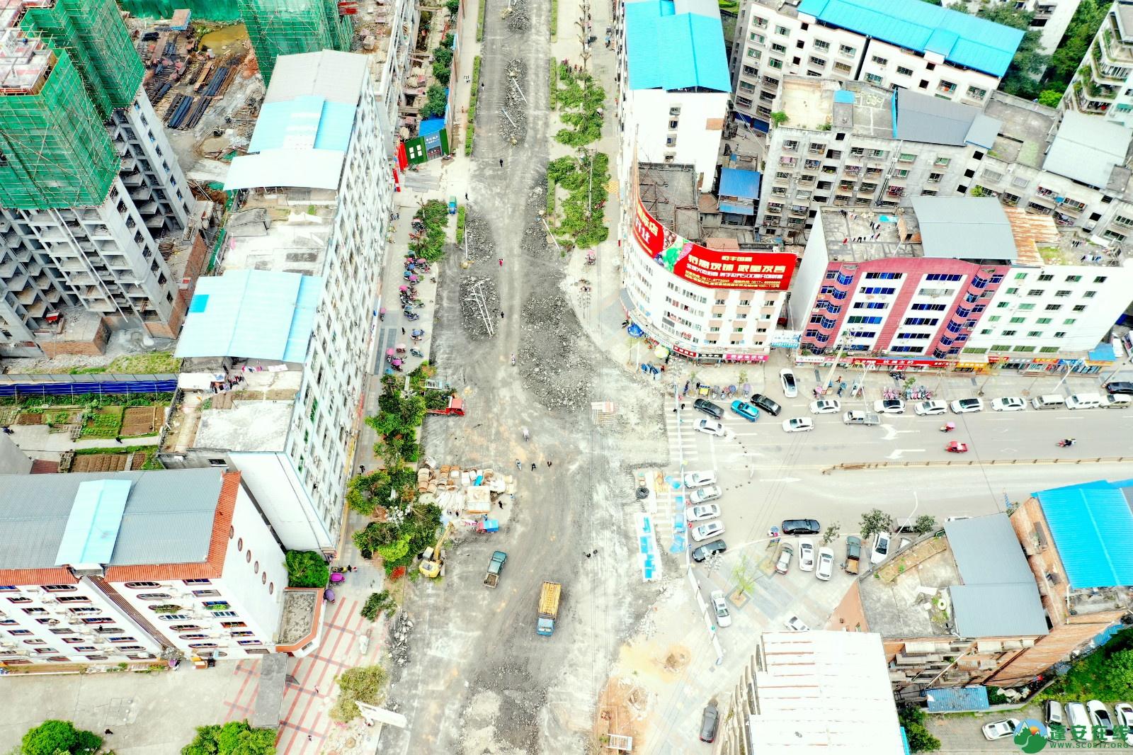 蓬安建设南路老旧街道小区美化改造(2020.3.22) - 第9张  | 蓬安在线