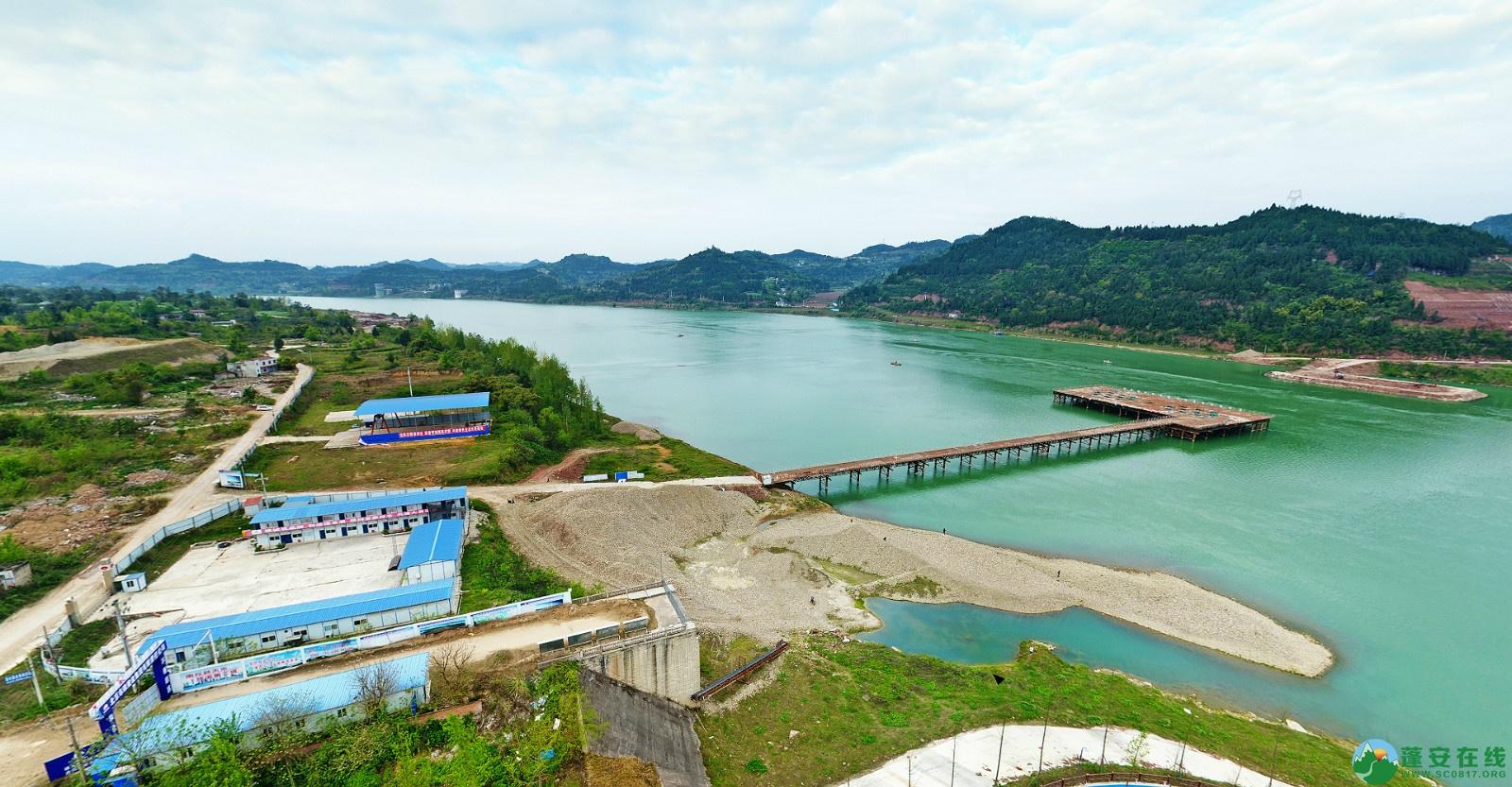 蓬安县锦屏新区建设实况(20200406) - 第1张  | 蓬安在线