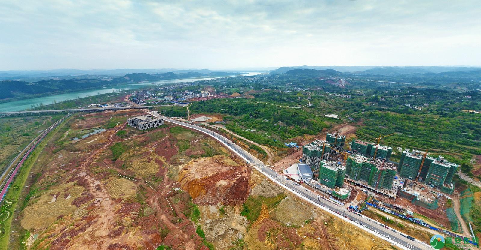 蓬安县锦屏新区建设实况(20200406) - 第11张  | 蓬安在线