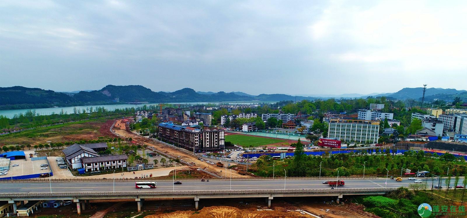 蓬安县锦屏新区建设实况(20200406) - 第12张  | 蓬安在线