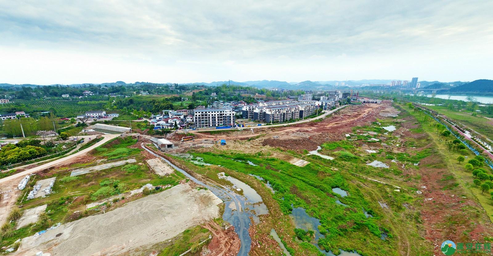 蓬安县锦屏新区建设实况(20200406) - 第3张  | 蓬安在线