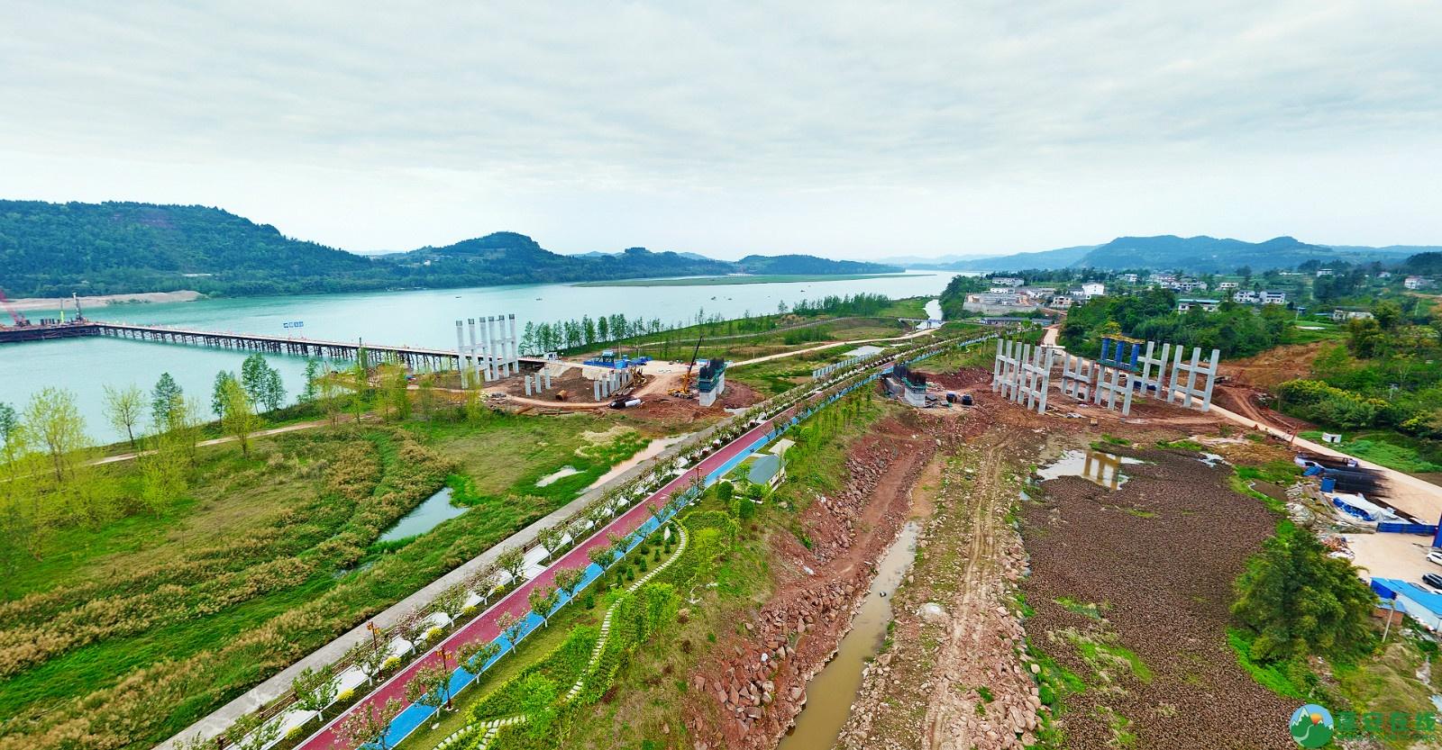 蓬安县锦屏新区建设实况(20200406) - 第4张  | 蓬安在线