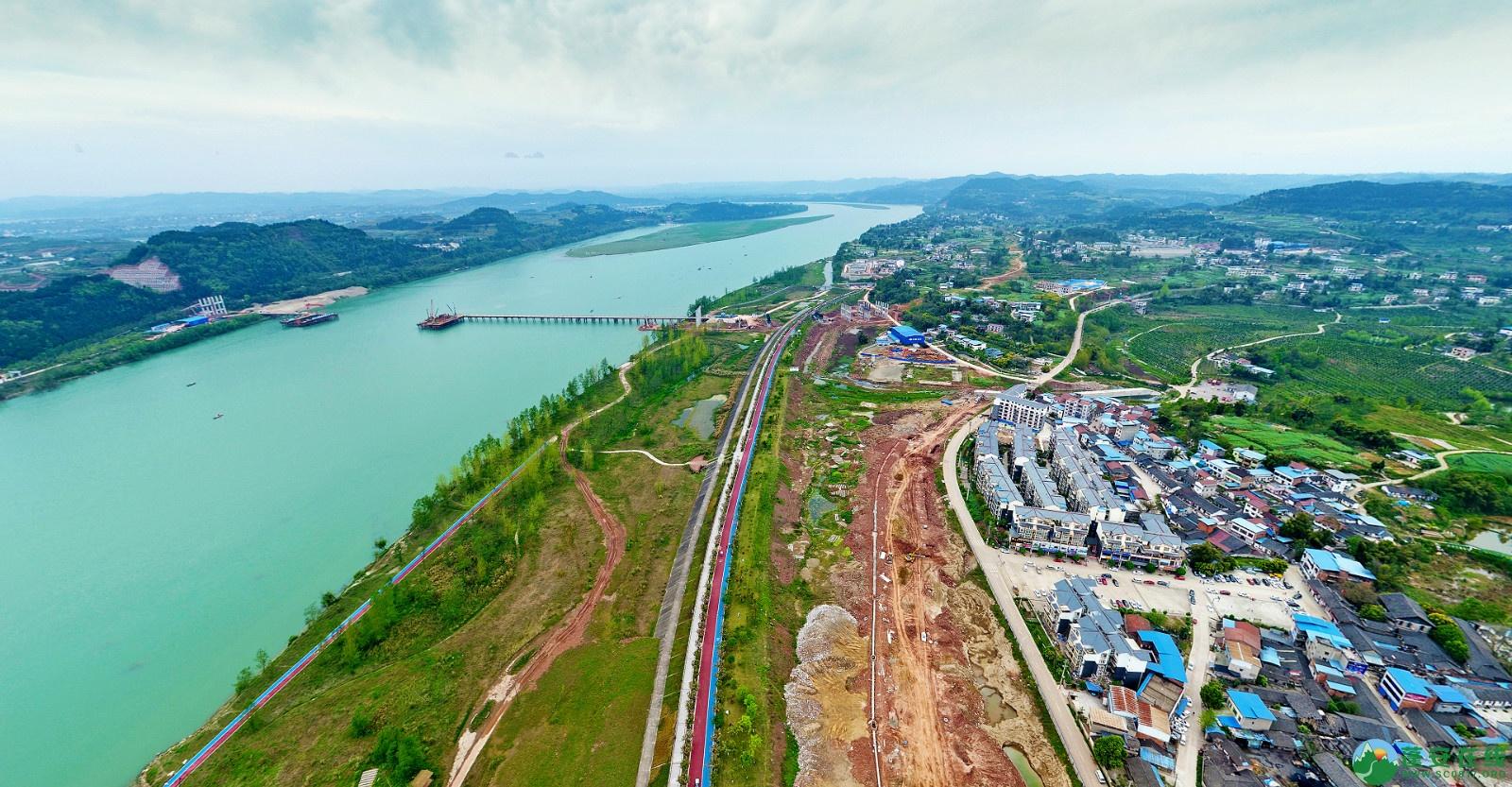蓬安县锦屏新区建设实况(20200406) - 第5张  | 蓬安在线
