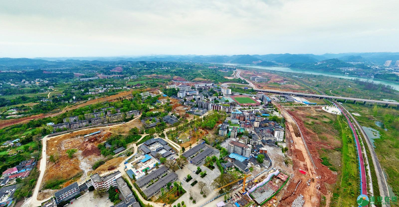 蓬安县锦屏新区建设实况(20200406) - 第6张  | 蓬安在线
