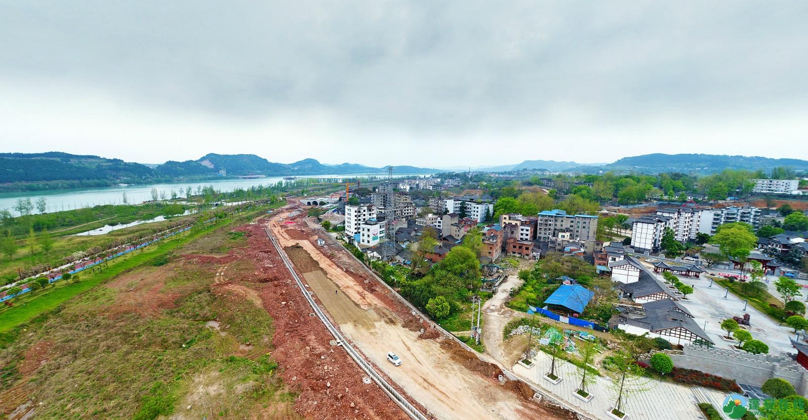 蓬安县锦屏新区建设实况(20200406) - 第7张  | 蓬安在线