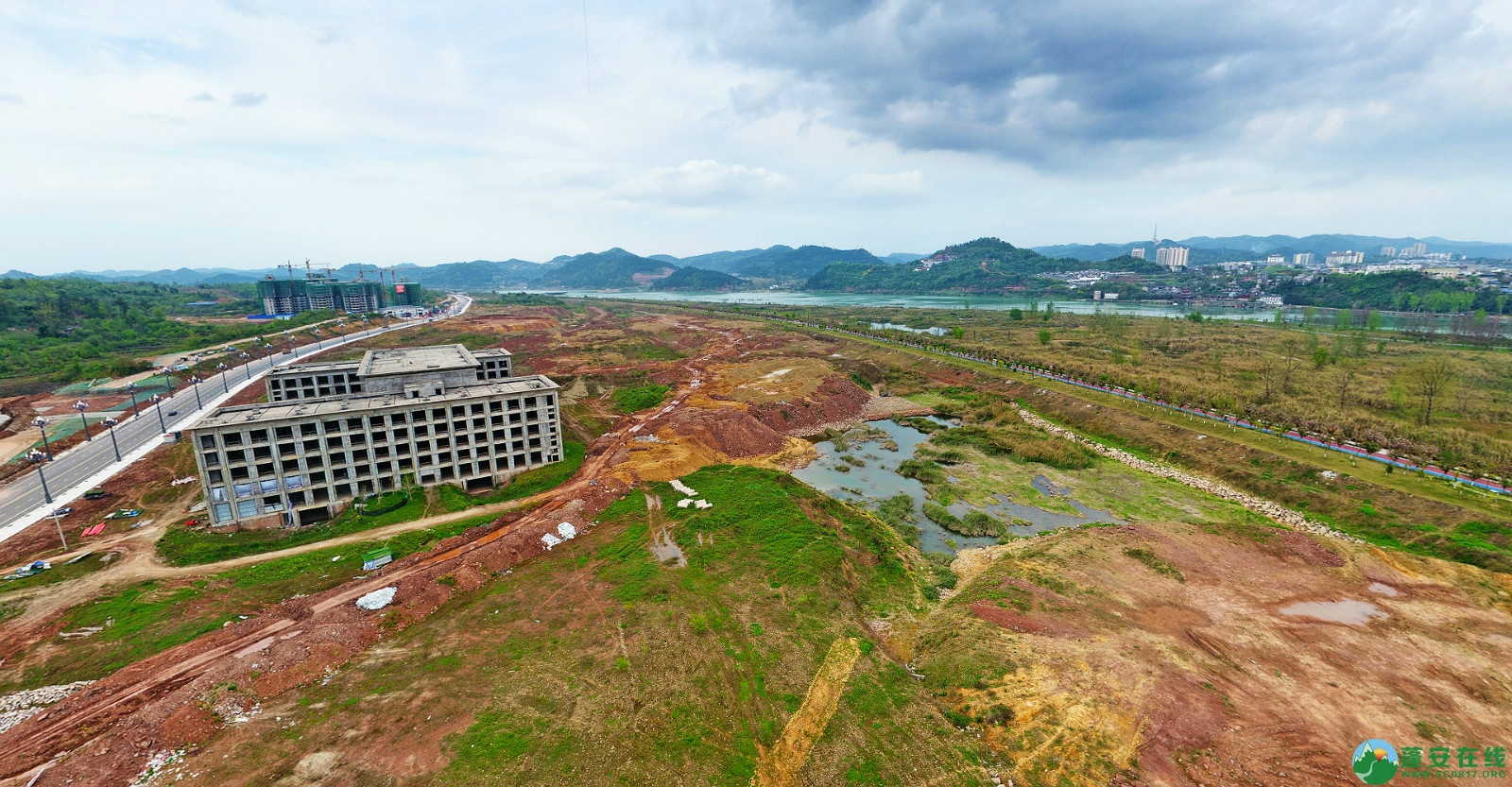 蓬安县锦屏新区建设实况(20200406) - 第9张  | 蓬安在线