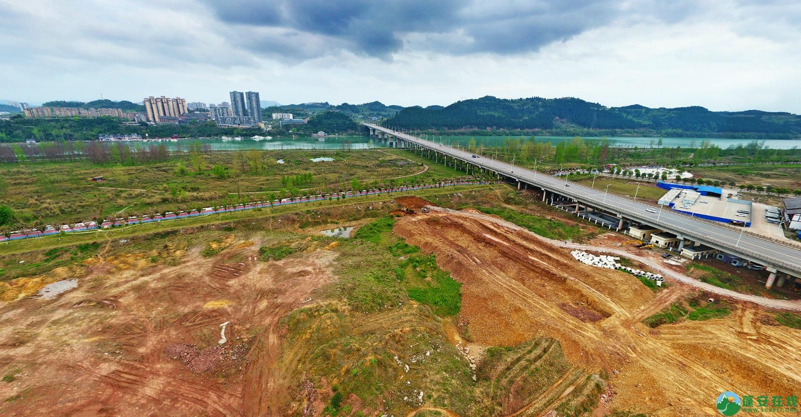 蓬安县锦屏新区建设实况(20200406) - 第2张  | 蓬安在线