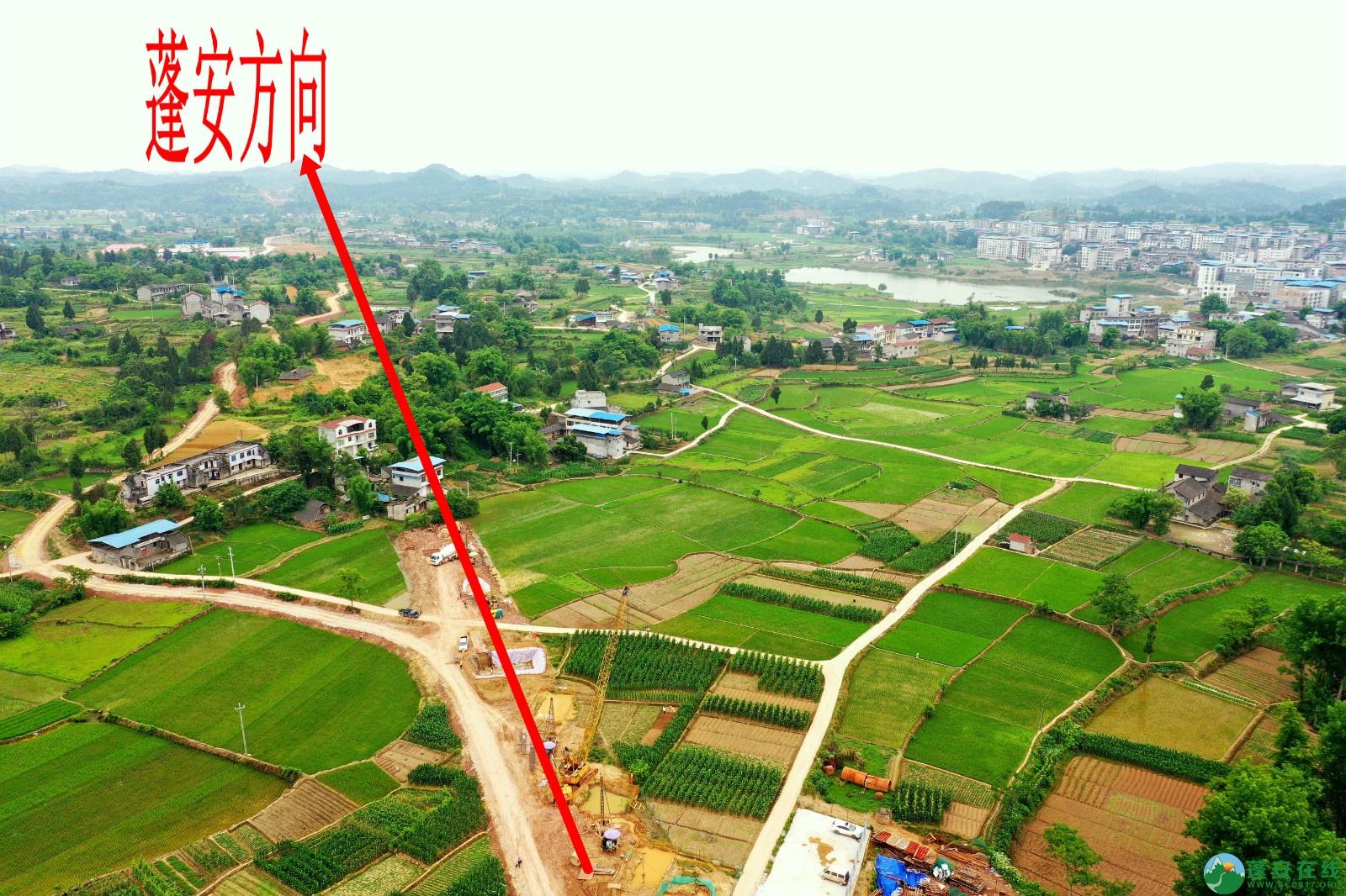 蓬安睦坝高铁站进展!(2020.5.27) - 第15张  | 蓬安在线