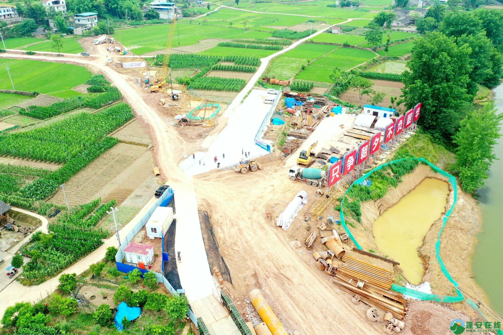 蓬安睦坝高铁站进展!(2020.5.27) - 第7张  | 蓬安在线