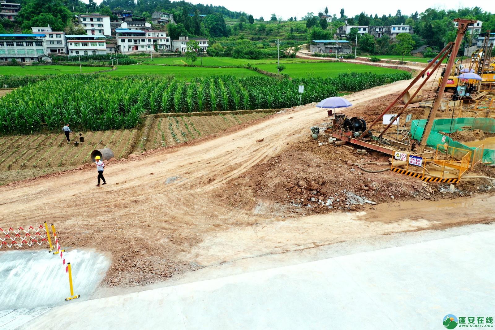 蓬安睦坝高铁站进展!(2020.5.27) - 第9张  | 蓬安在线