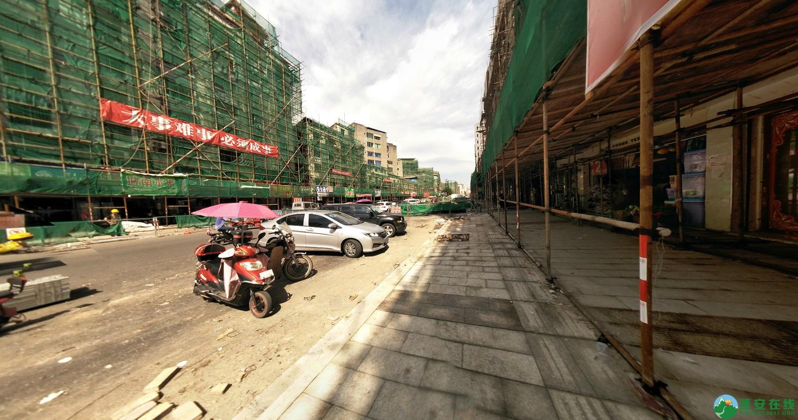 蓬安建设路改造进展(2020-08-05) - 第3张  | 蓬安在线