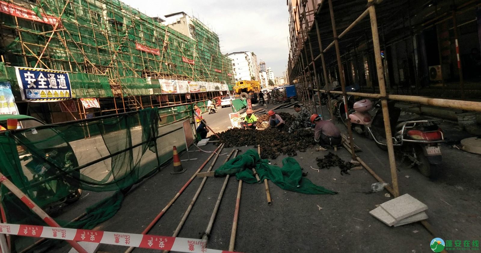 蓬安建设路改造进展(2020-08-05) - 第5张  | 蓬安在线