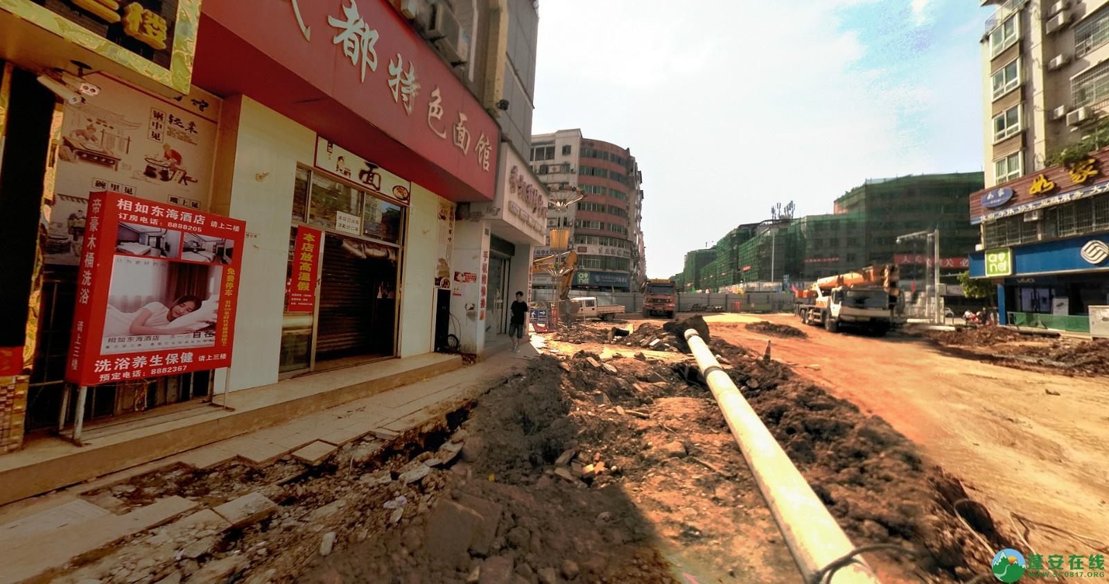 蓬安建设路改造进展(2020-08-05) - 第7张  | 蓬安在线