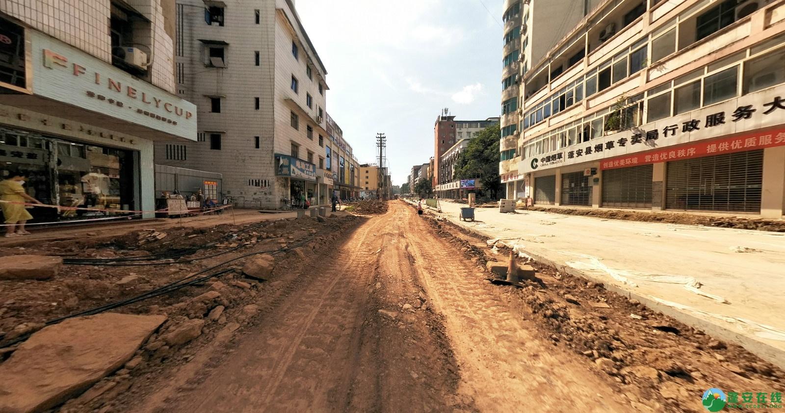 蓬安建设路改造进展(2020-08-05) - 第8张  | 蓬安在线