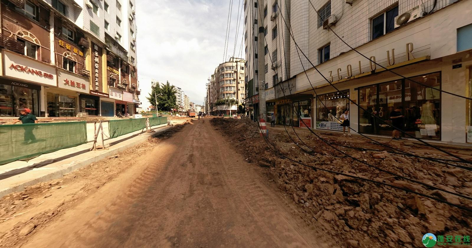 蓬安建设路改造进展(2020-08-05) - 第9张  | 蓬安在线