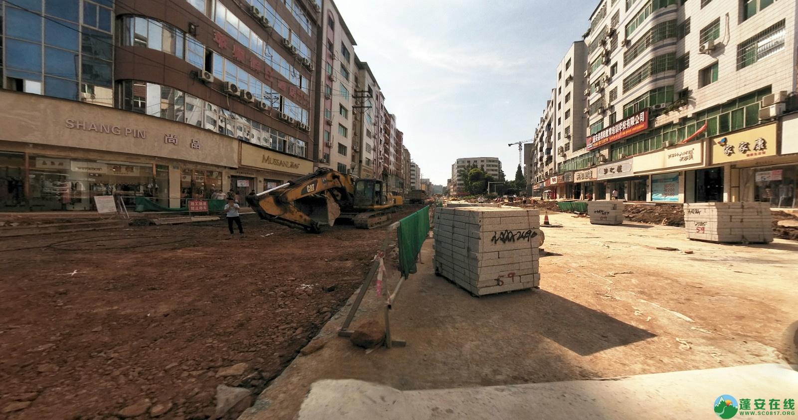 蓬安建设路改造进展(2020-08-05) - 第10张  | 蓬安在线