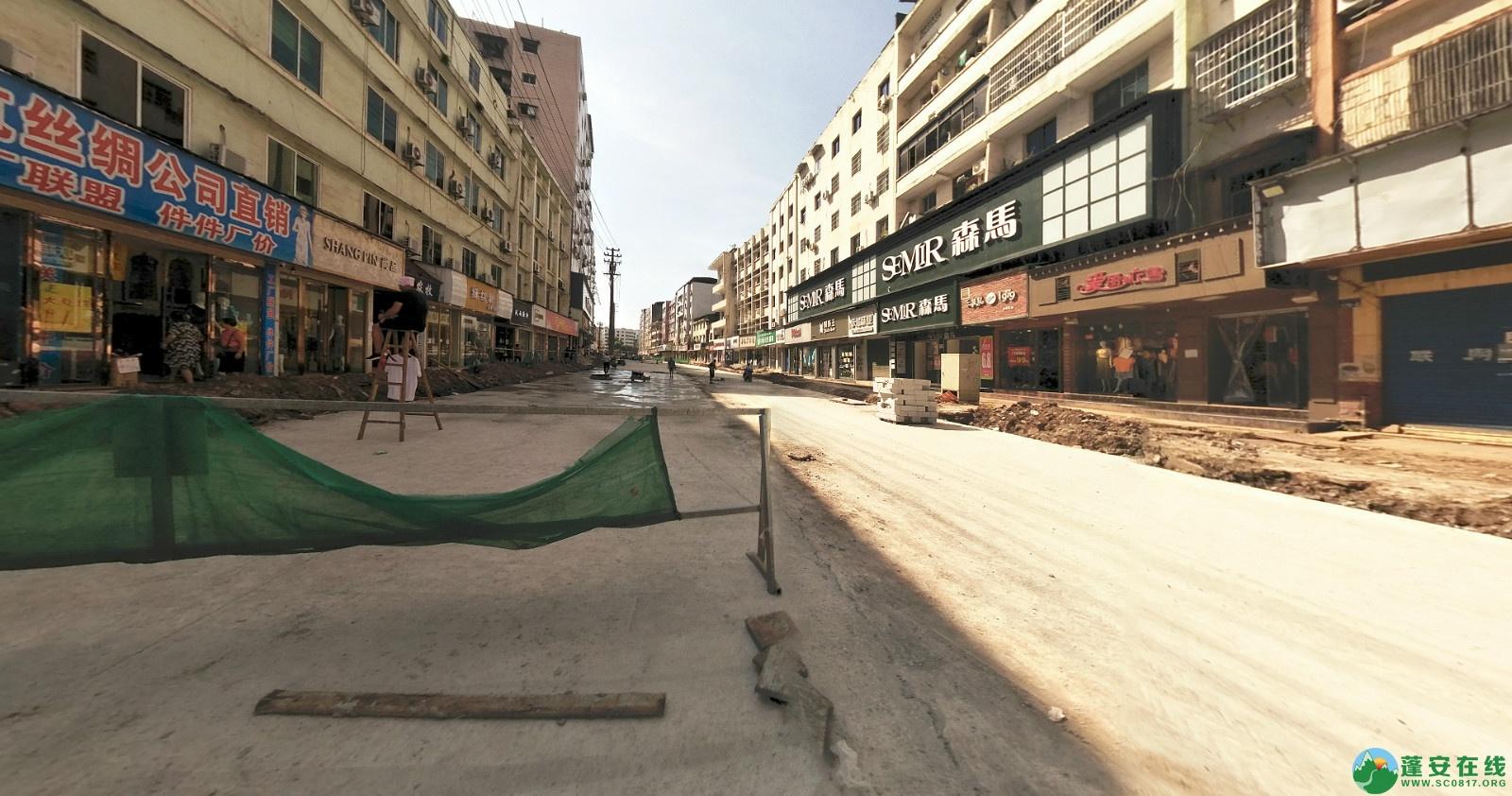 蓬安建设路改造进展(2020-08-05) - 第12张  | 蓬安在线