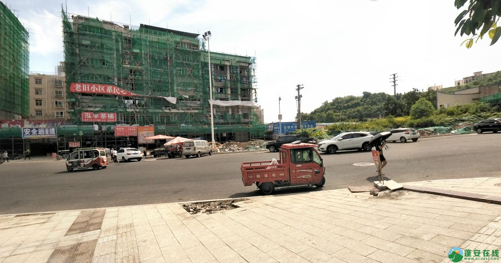 蓬安建设路改造进展(2020-08-05) - 第17张  | 蓬安在线